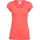 Icebreaker Sphere SS Scoop Shirt Women poppy red hthr